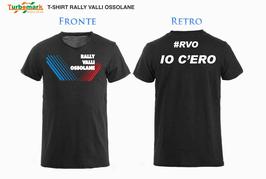 T-SHIRT RALLY VALLI OSSOLANE - #RVO IO C'ERO-