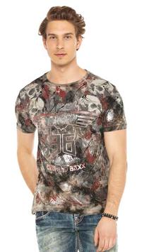 cipo&baxx Herren T-Shirt Khaki CT 541