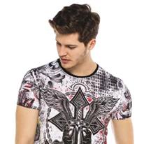 cipo&baxx Herren T-Shirt  CT533 White