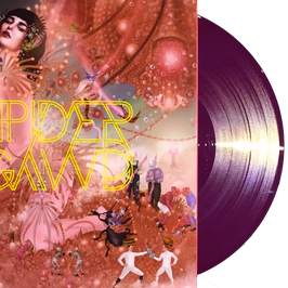 "SPIDERGAWD - II (purple marbled vinyl) 12"" LP"