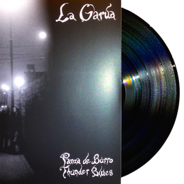LA GARUA - PANZA DE BURRO THUNDER BLUES (black) LP