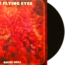 "THE FLYING EYES / GOLDEN ANIMALS - Split 7"" (black)"