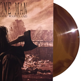 BONE MAN - PLASTIC WASTELAND (dookie brwown/bronze A/B sided vinyl) LP