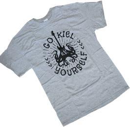 GO KIEL YOURSELF SHIRT - GREY EDITION