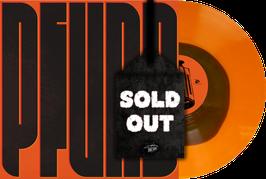 "PFUND - PFUND (transparent orange with coloured circle) 12"" vinyl record"