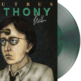 "SAUTRUS - ANTHONY HILL (Anthonys Poison Edition) EXCLUSIVE PINK TANK EDITION LIMITED TO 100 COPIES 12"" vinyl record"