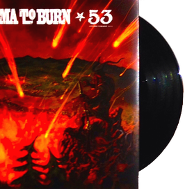 "KARMA TO BURN / SONS OF ALPHA CENTAURI 7"" Split (black)"