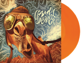 "CAMEL DRIVER - CAMEL DRIVER (orange/red marbled) 12"" VINYL 3rd press"