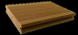 Thermokiefer Terracon mit seitlicher Nut, Oberfläche geriffelt