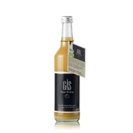 GAS GINGER ALE SYRUP 0.5l