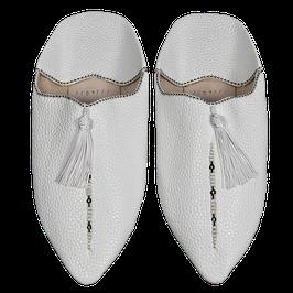 BABOUCHES alabaster white - momentan nur über Amazon bestellbar