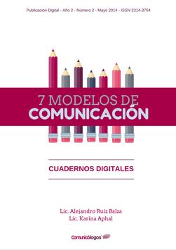 """Cuaderno """"7 Modelos de Comunicación"""""""