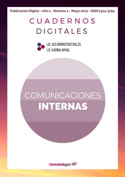 """Cuaderno """"Comunicaciones Internas"""""""