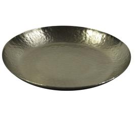 Teller Alu, silber, D37cm
