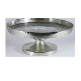 Alu-Tablett, silber, D56cm