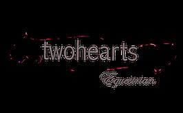 """Schriftfarbe """"twohearts Equestrian"""" (Rücken Logo)"""