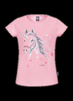 T-Shirt mit Glitzer Einhorn