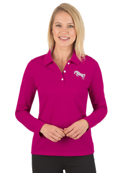 TWOHEARTS® Langarm Poloshirt Kristallen - NewGeneration