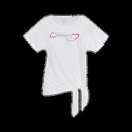 Viskose Shirt mit Bindeknoten by twohearts®