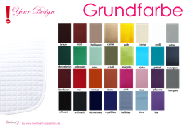 Grundfarbe - Basic Colour