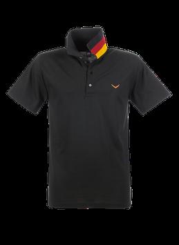 MAN Polo-Shirt Deutschland Schwarz by twohearts®