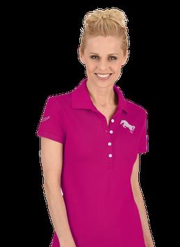 twohearts® Poloshirt mit Swarovski® Kristallen NewRider