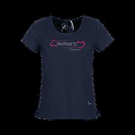 T-Shirt aus Biobaumwolle mit Schleife by twohearts®