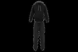 Jogginganzug aus Biobaumwolle Schwarz-C2C  - MAN