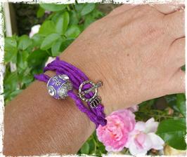 Bracelet Queen of Silk