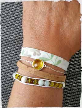 Bracelet multirangs Tendresse