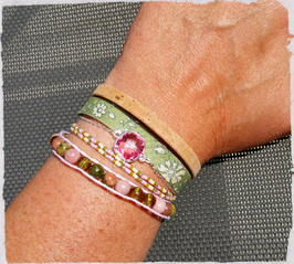 Bracelet multirangs Douceur