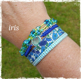 Bracelet multirangs Iris