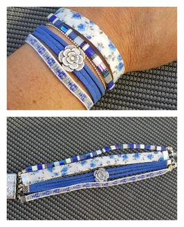 Bracelet multirangs Catherine