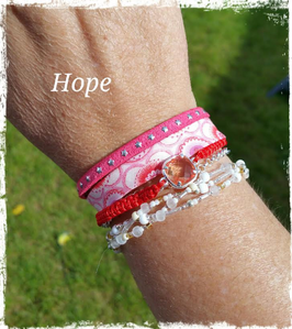 Bracelet multirangs Hope