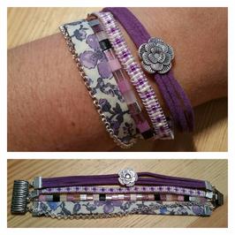 Bracelet multirangs Aléandra