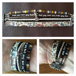 Bracelet multirangs Anna