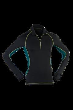 Lauf-Shirt  black/hydro