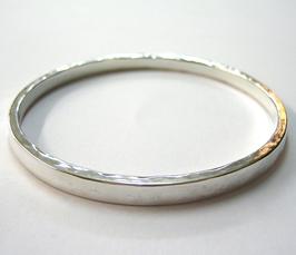 Silberarmreif, geschmiedet