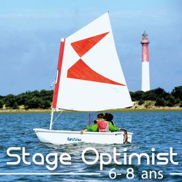 Stage Optimist (du 02 au 06 août)