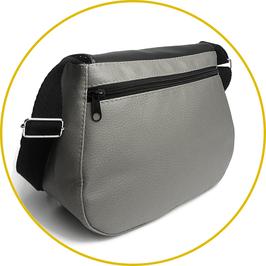Option poche zippée à l'arrière du sac