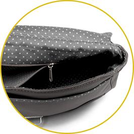 Option doublure : ajout d'une poche zippée