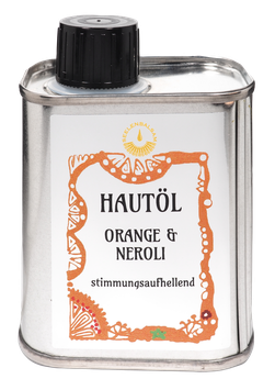 Hautöl Orange und Neroli