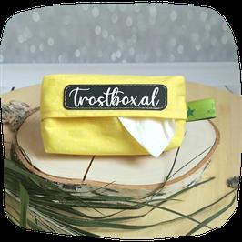 Taschentuchhülle gelb Trostboxal