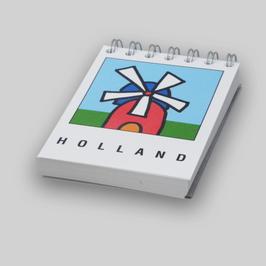 Memoblok mini Holland