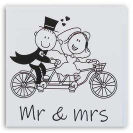ZW Trouwen Mr & Mrs