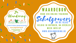 Waardebon Schatgravers online - individuele sessie- via je mailbox