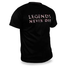 LEGENDS NEVER DIE - Shirt - schwarz