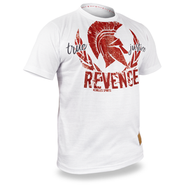 REVENGE PREMIUM - Shirt - weiß