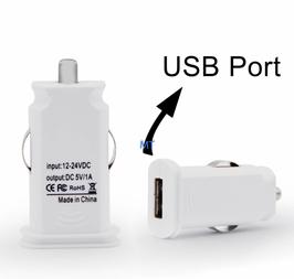 Universal USB Auto Ladestecker in weiß