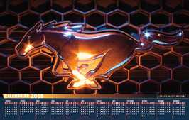 CALENDRIER MUSTANG
